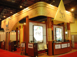 3b Exhibition Stands - Egypt Pavilion - ADIPEC Show 2012 (Event in India)