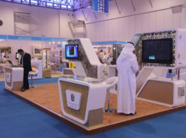 3b Exhibition Stands - Ministry of Economy - Sharjah Exhibition